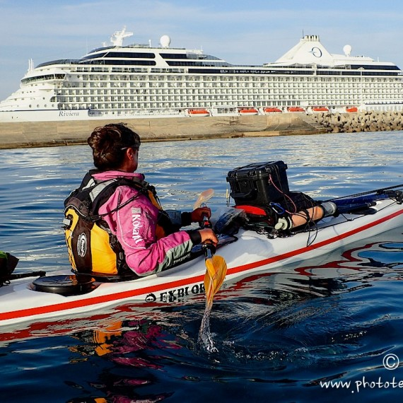 the route-antognelli-italie-kayak-Civitavecchia